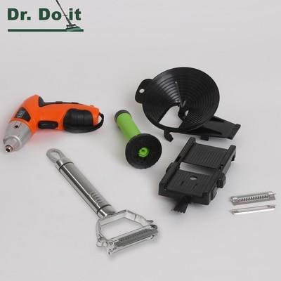 Multi-Slicer Set, schwarz mit Powertool
