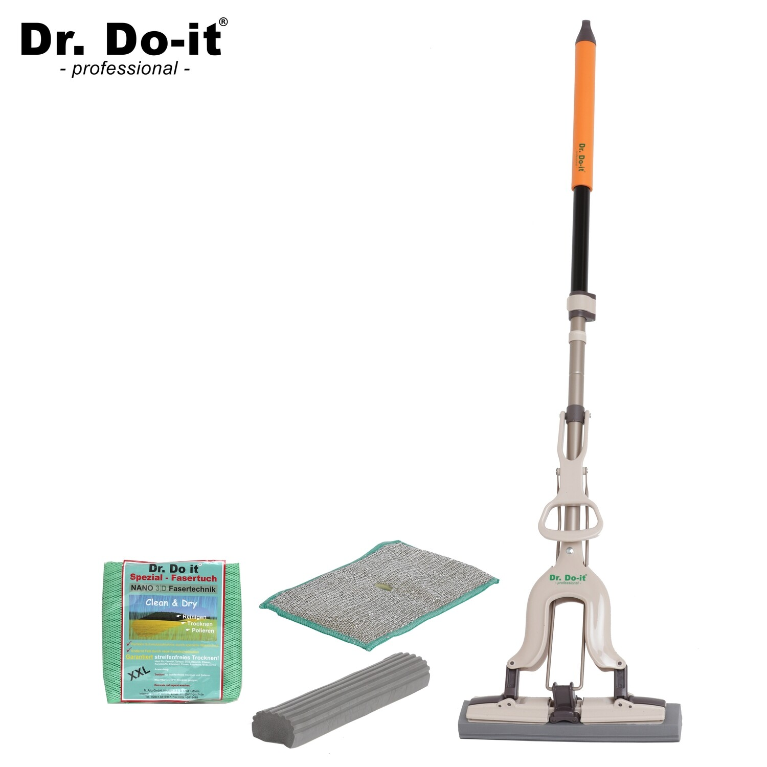 Dr. Do It Professional Wischmop, Sparset 1