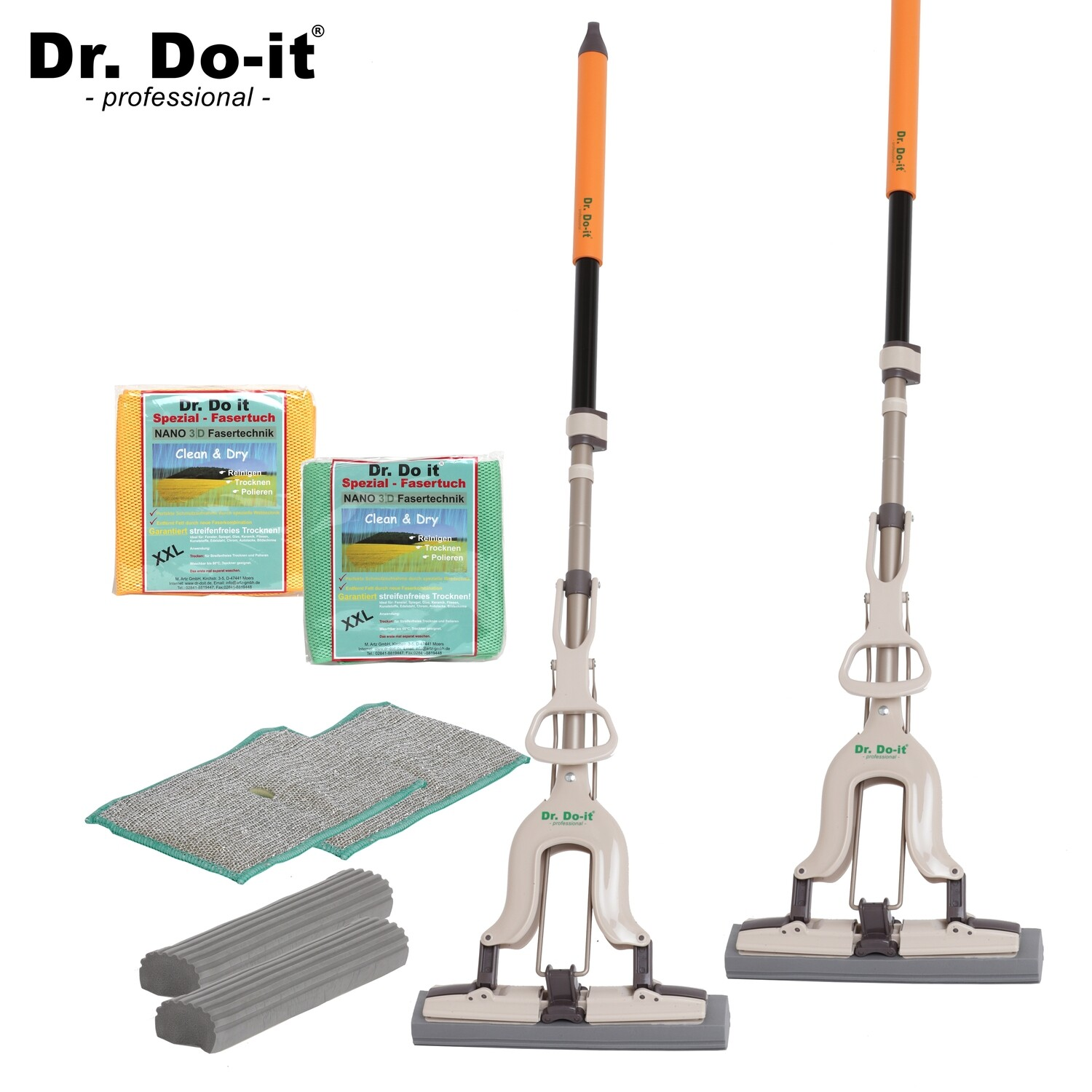 Dr. Do It Professional Wischmop, Sparset 2