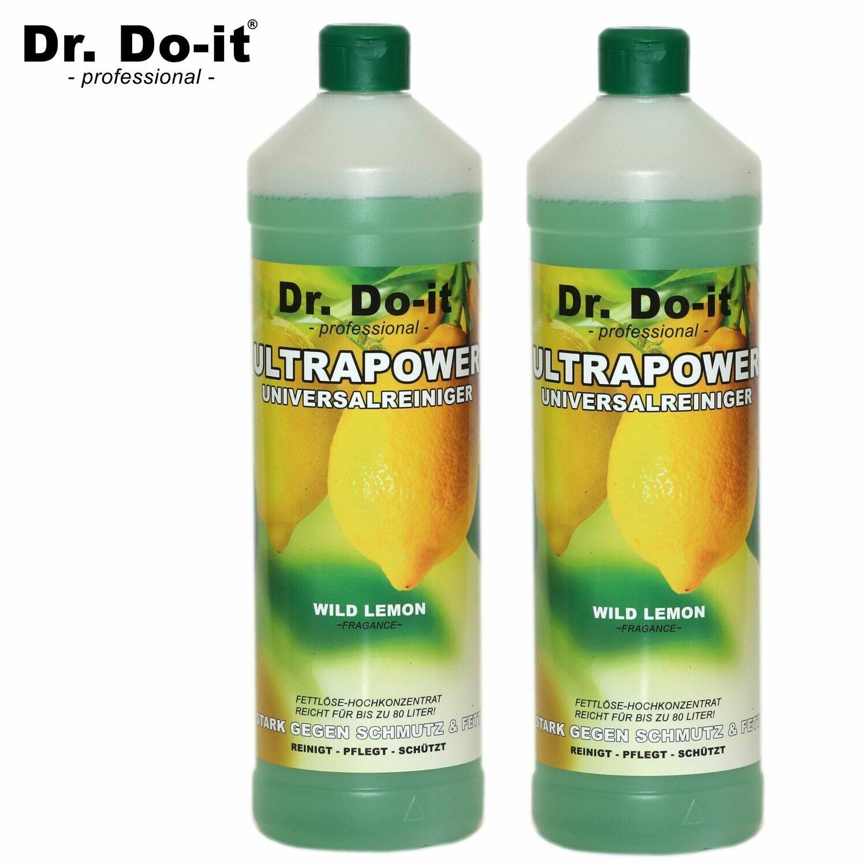 Dr. Do It Professional Universalreiniger, 2x 1Liter