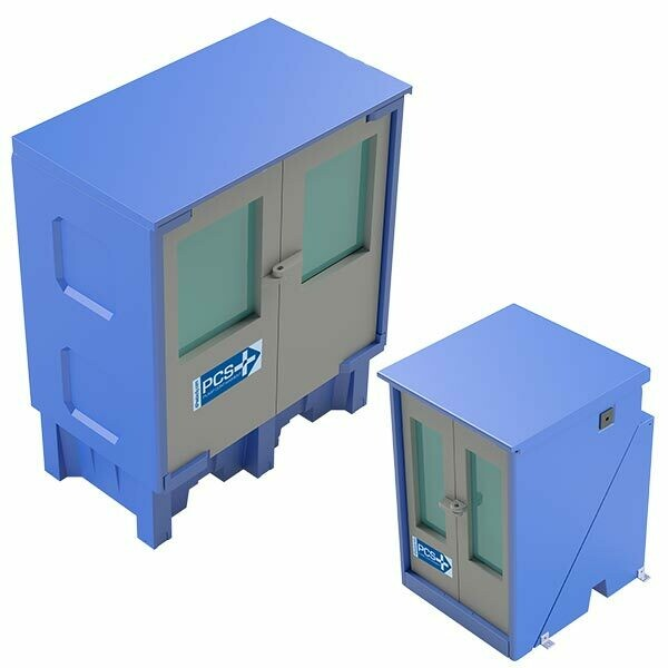 PCS-4.0 PLUS Pump Containment Enclosure - w/ Cover - No Divider