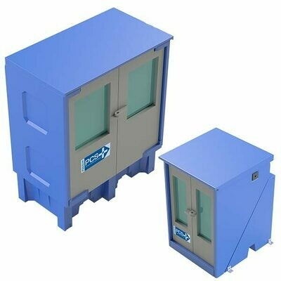 PCS-2.0 PLUS Pump Containment Enclosure - w/ Cover - No Divider