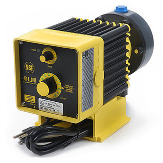 B921-495SI, LMI Pump 2.5 GPH/100 PSI with 4-20mA and Dual Manual Control