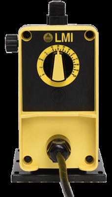 PD041-822NI, LMI Pump 0.50 GPH/250 PSI with Manual Speed Control