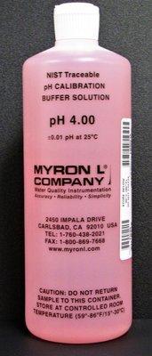 PH4, Myron L Company PH4 Calibration Solution, Quart