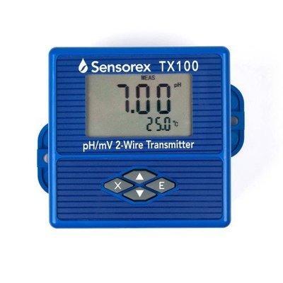 TX100, Sensorex pH/ORP Transmitter