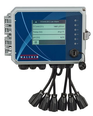 WBL600HSNNN-AN, Walchem Boiler Controller with Six Relays and One Boiler Probe Asm