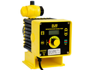 C921-468SI, LMI Pump 4.0 GPH/100 PSI with 4-20mA and Dual Manual Control