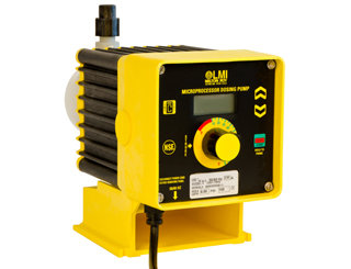 C941-36S, LMI Pump 20.0 GPH/25 PSI with 4-20mA or Pulse Control