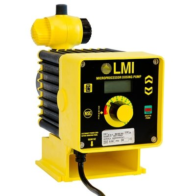 B921-498SI, LMI Pump 2.5 GPH/100 PSI with 4-20mA and Dual Manual Control
