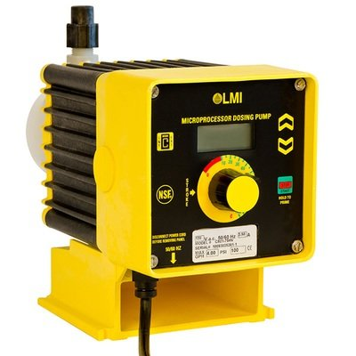 B931-75HV, LMI Pump 4.5 GPH/50 PSI with 4-20mA and Dual Manual Control