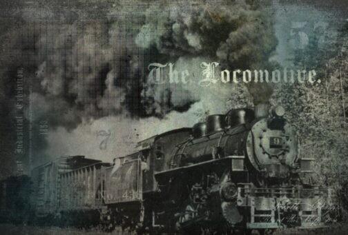 ROYCYCLED THE LOCOMOTIVE #68