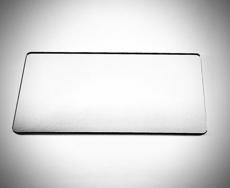 зеркальный акрил, цвет серебро (толщина 3 мм) размеры 2050 мм Х 1500 мм