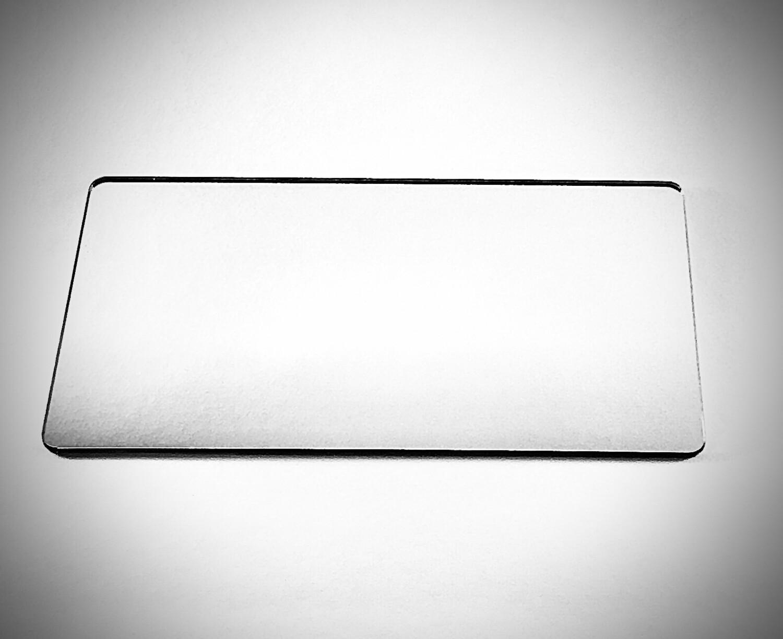 зеркальный ПЭТ-серебро (0.5 мм) 2050 мм Х 1250 мм