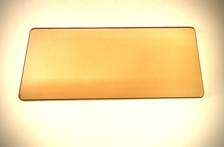 зеркальный ПЭТ-золото (0.5 мм) 2050 мм Х 1250 мм
