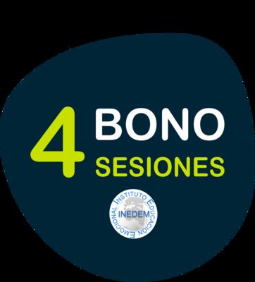 Bono 4 sesiones de Psicoterapia o Coaching
