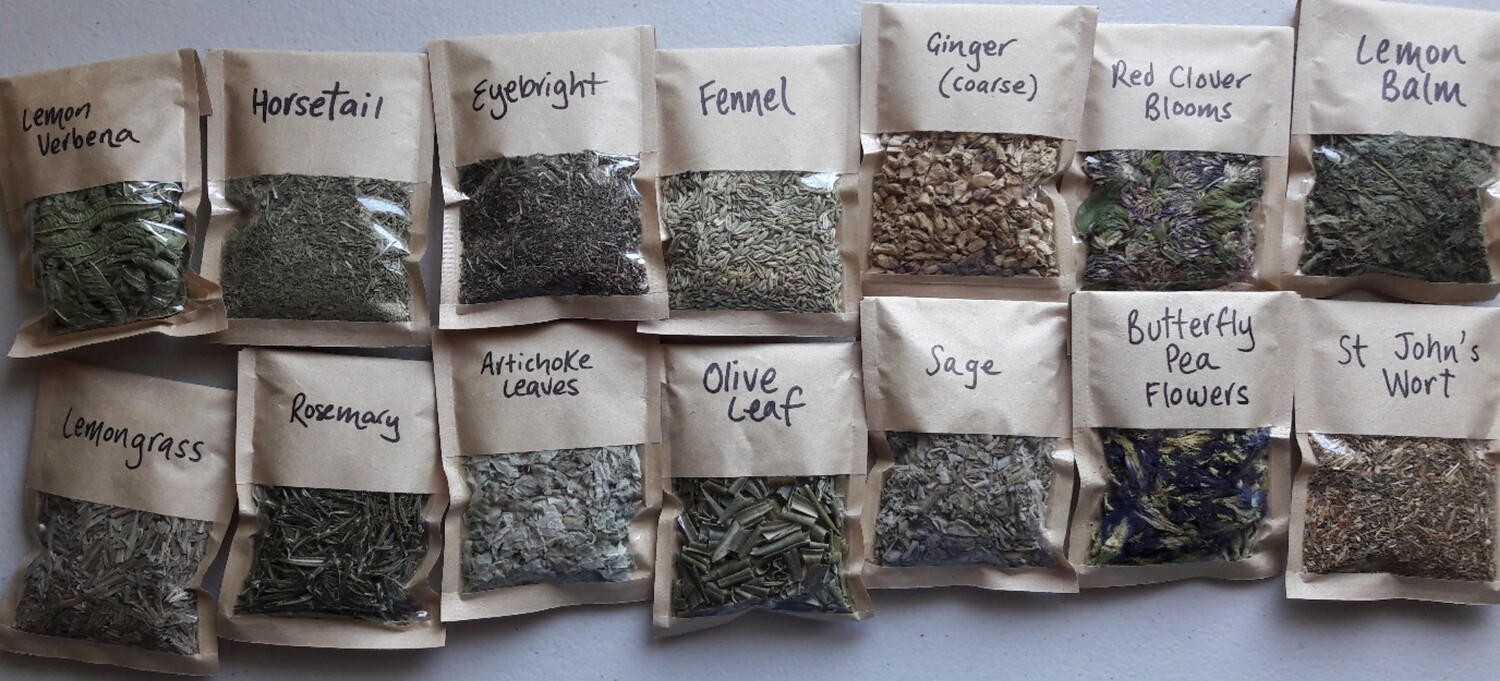Single Herbs $6 bags- you specify type