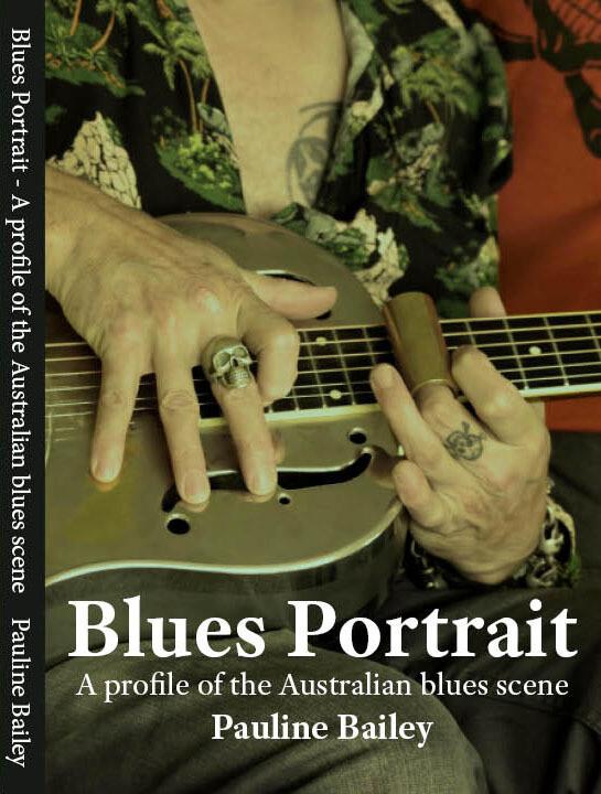 Book - Blues Portrait by Pauline Bailey (Volume 1)