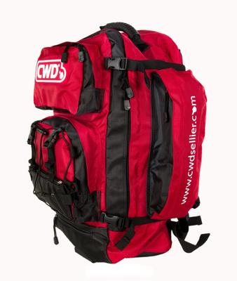 Groom's backpack