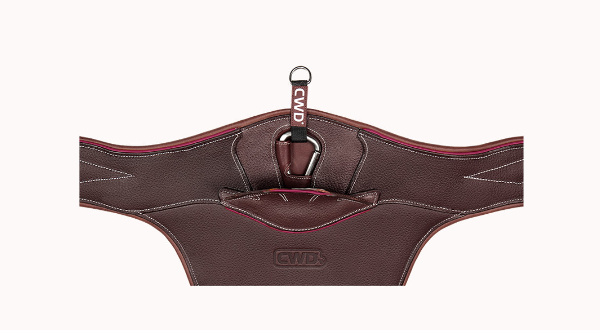 Mademoiselle Anatomic Jumping Belly Guard Girth
