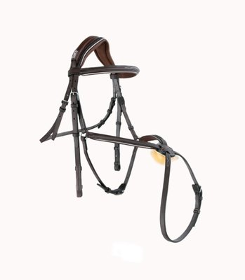Mademoiselle Anatomic Figure 8 Noseband Bridle With Fancy Stitching