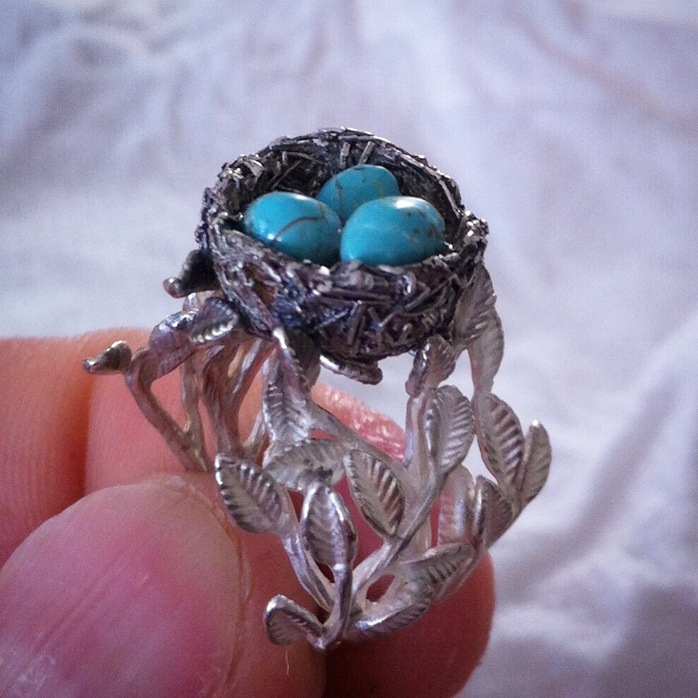 Custom Birds Nest Ring