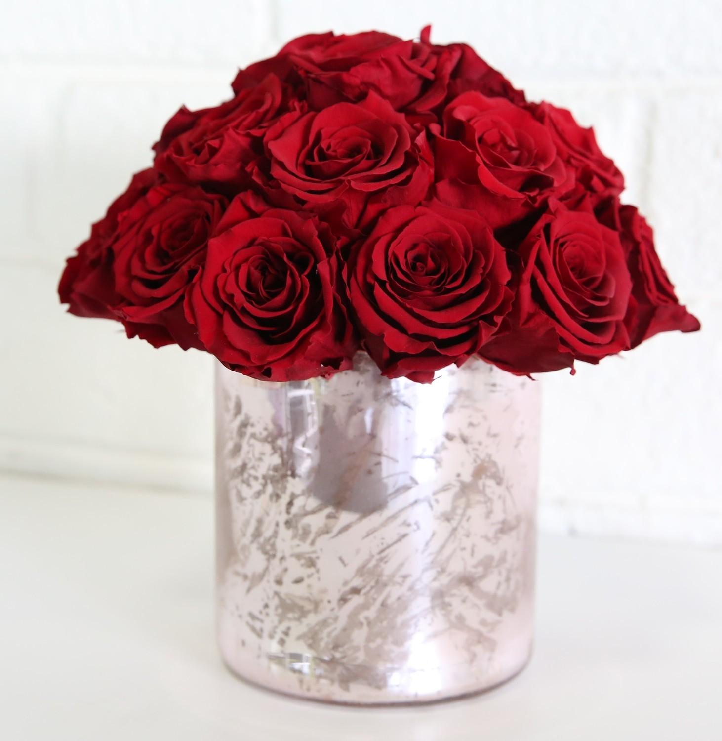 Cherish Preserved Rose Arrangement