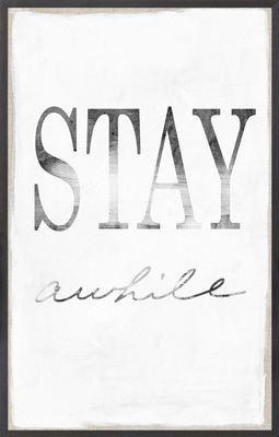 Stay Awhile Floor Sample