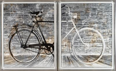 Bicycle Diptych