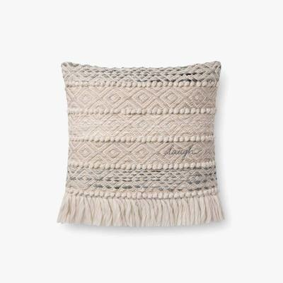 P4084 ED  Laugh Grey / Natural Pillow