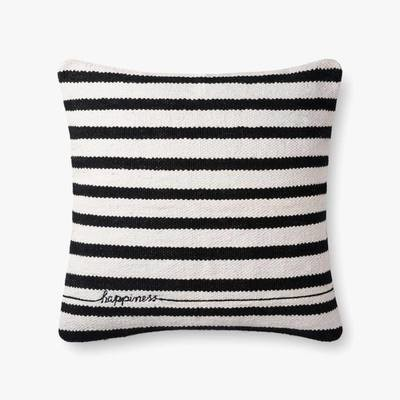 P4091 ED Black / White Pillow