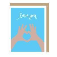 Love You Heart Hands