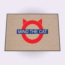 Mind the Cat doormats
