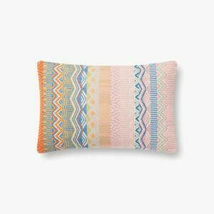 P6033 Mérida Woven Lumbar Pillow by Rifle Paper