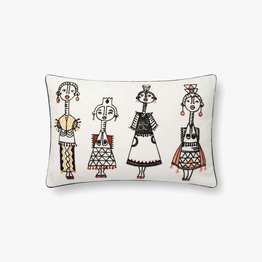 Jungalow People Pillow by Justina Blakeney