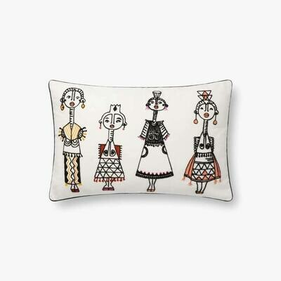 Jungalow People Pillow by Justina Blakeney