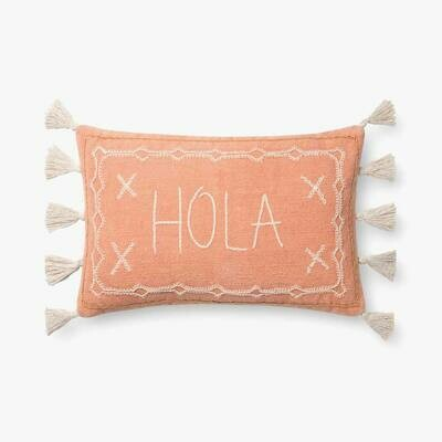 Hola Pillow by Justina Blakeney