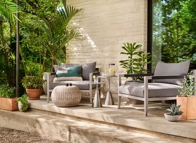 Indoor Outdoor Accent Stool