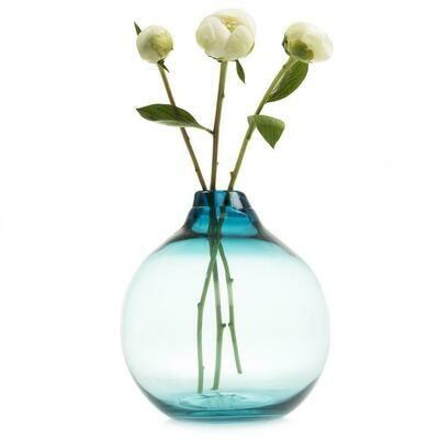Supreme Corona Teal Vase