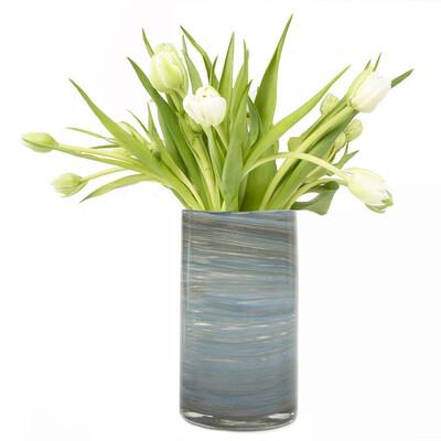Supreme Nebula Vase Blue