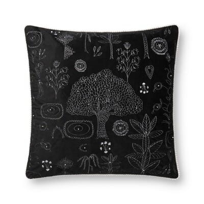 Noche Rain Forest Pillow by Justina Blakeney