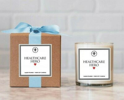 Thank a Healthcare Worker - Soy Candle