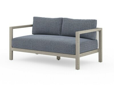 Sonoma Modern Outdoor Sofa Navy