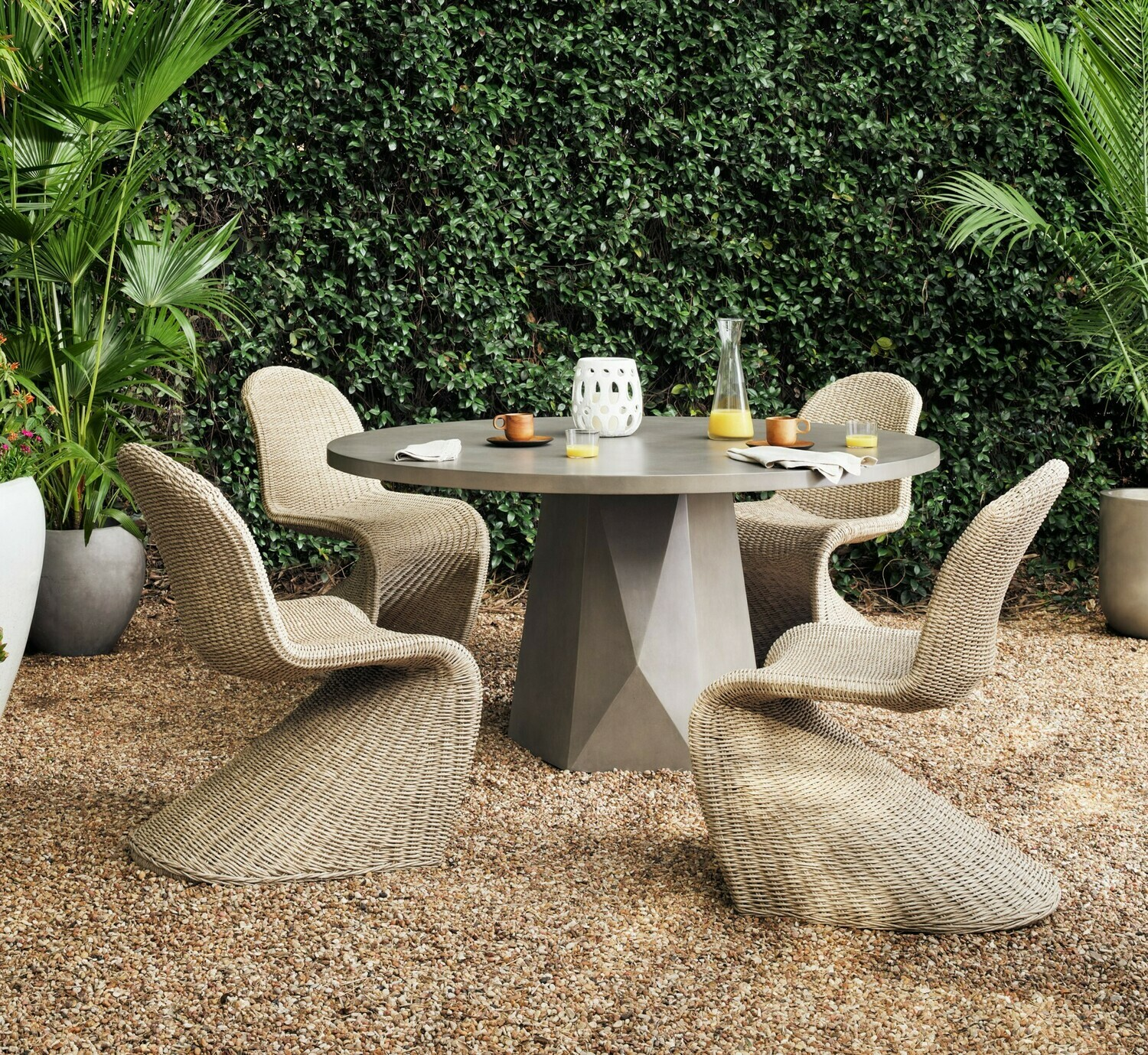 Portia Modern Outdoor Dining Chair