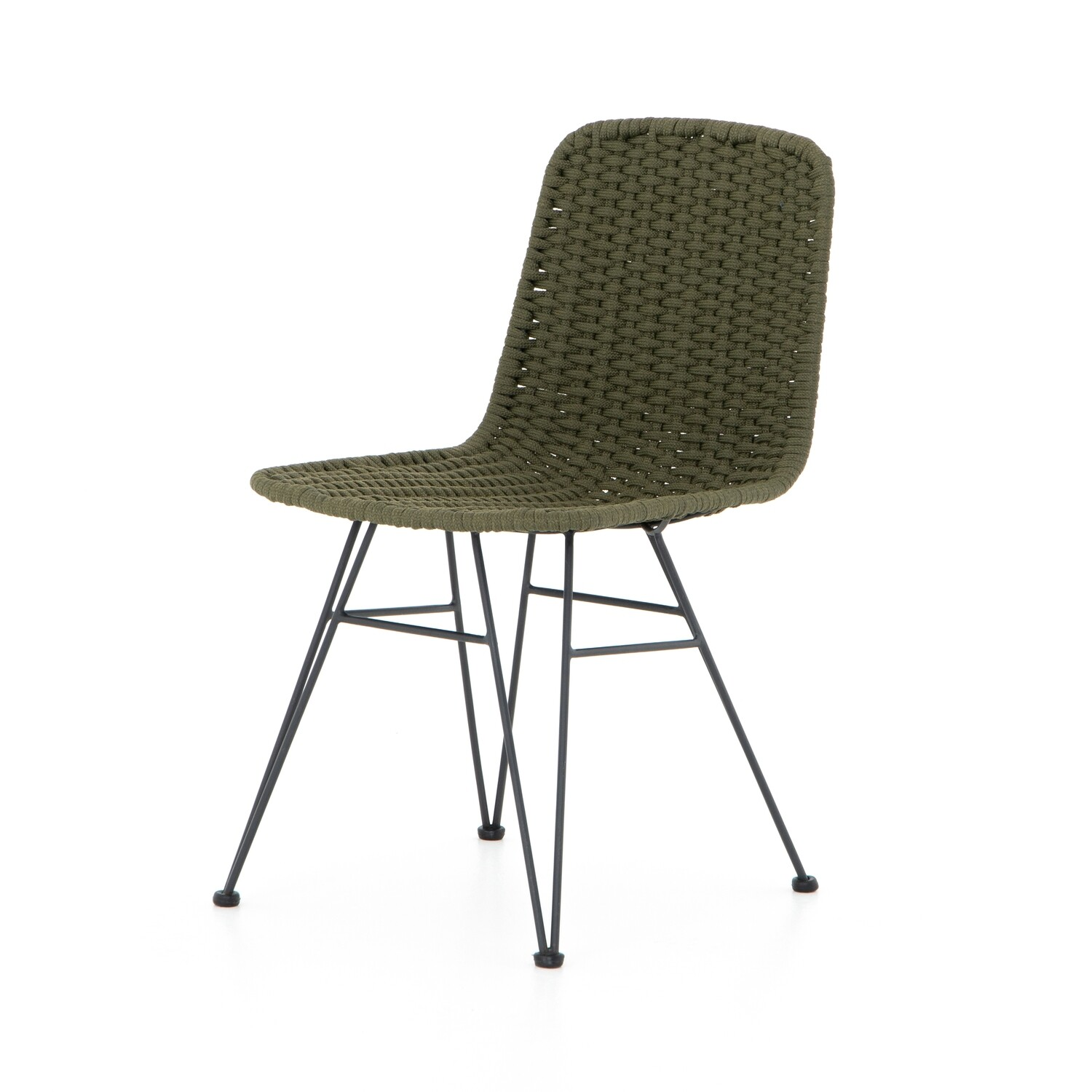 Dema Outdoor Dining Chair Olive