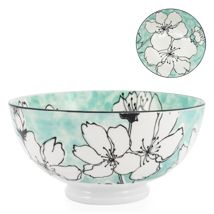 Kiri Sakura Bloom Porcelain Bowl