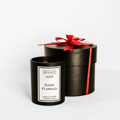 Dark Florals Luxury Scented Candle