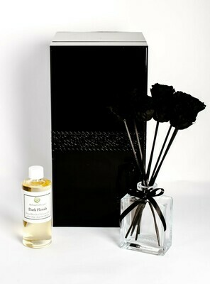 MelroseFields Classic Black Rose Reed Diffuser Kit