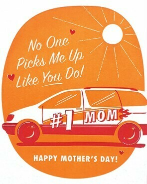 Good Paper Pick Me Up Mom Mother's Day Card