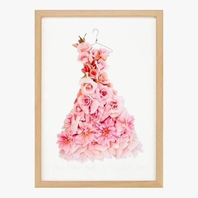 Cecile Brunner Rose Dress Pring